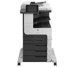 惠普HP LaserJet Enterprise M725z mfp打印机驱动下载